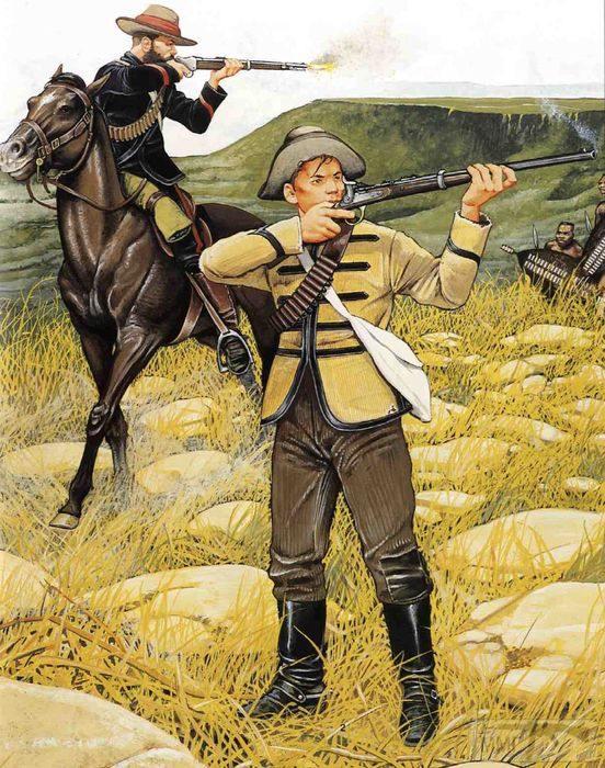 97175 - Война британцев с зулусами