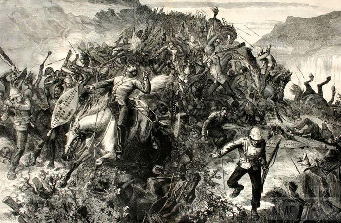 97176 - Война британцев с зулусами
