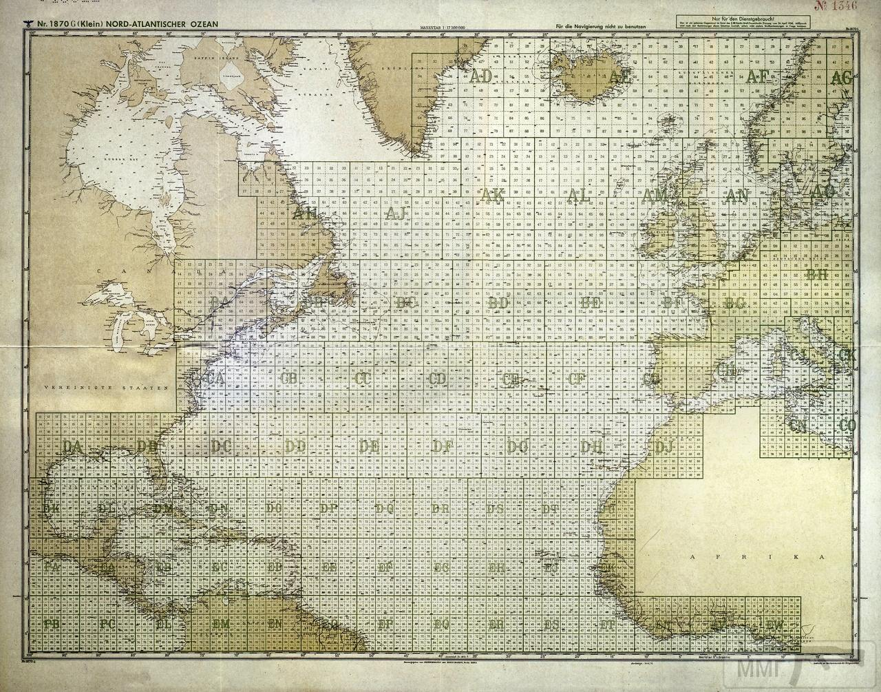 97658 - Действия немецких подлодок в Атлантике