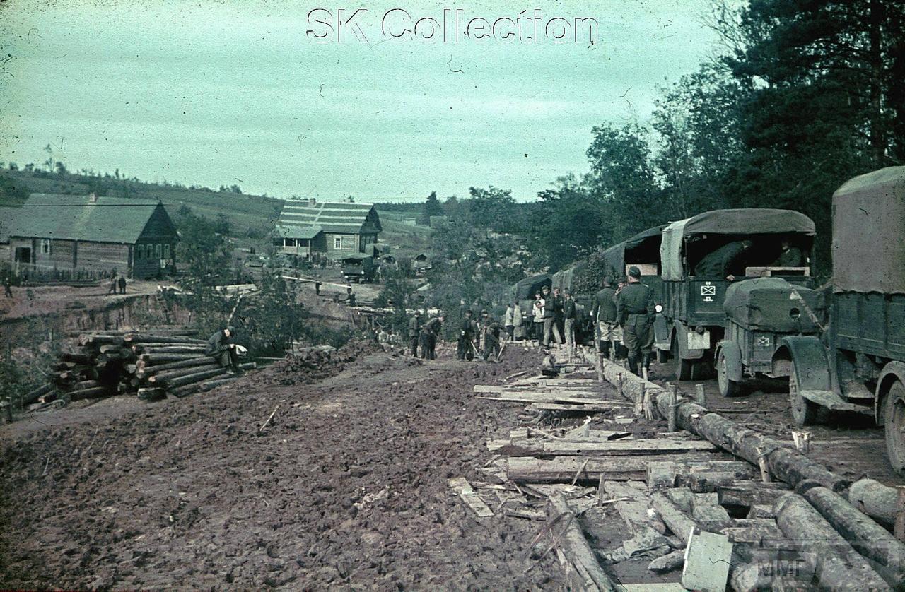 98035 - Военное фото 1941-1945 г.г. Восточный фронт.