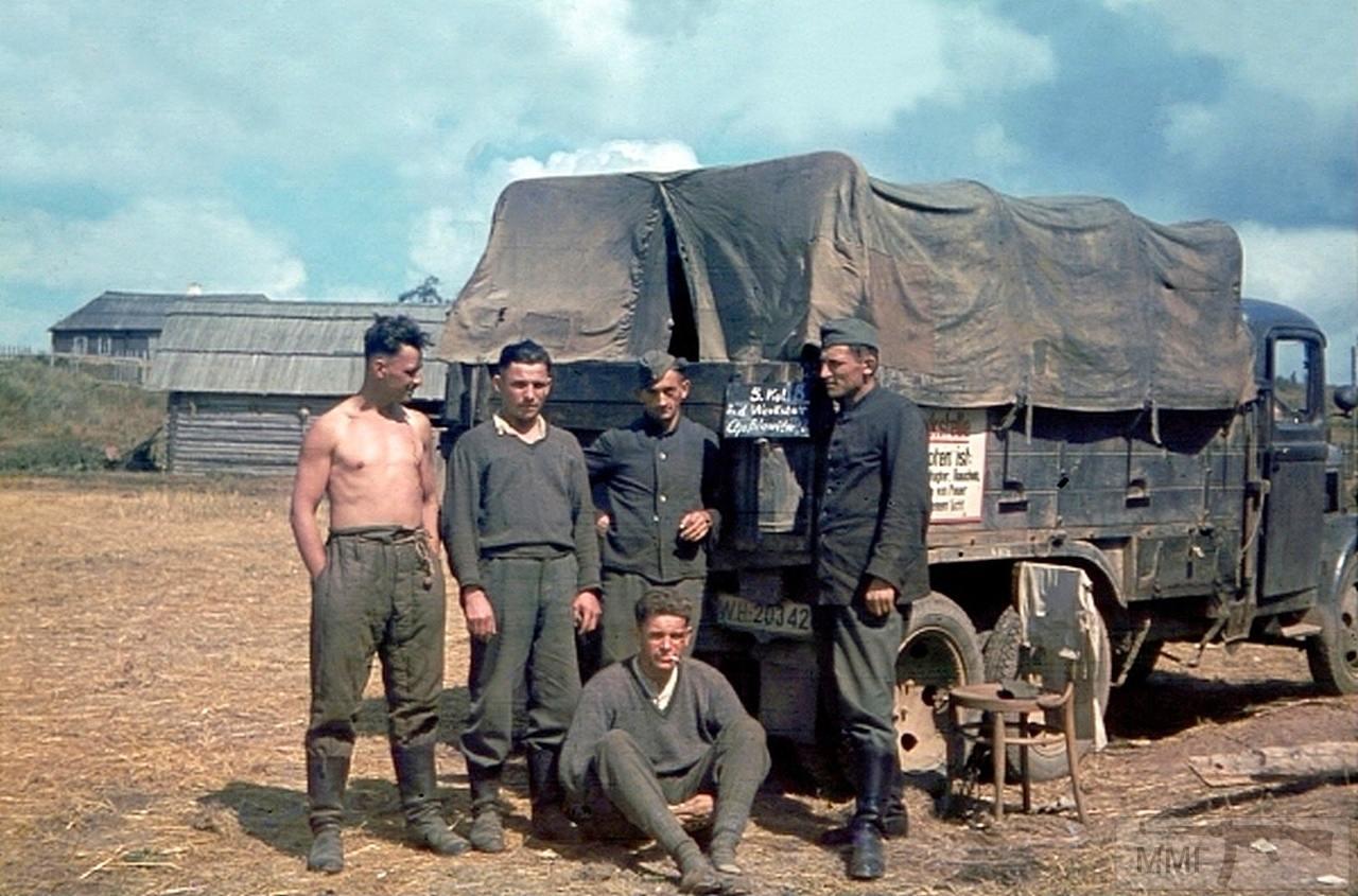 98041 - Военное фото 1941-1945 г.г. Восточный фронт.