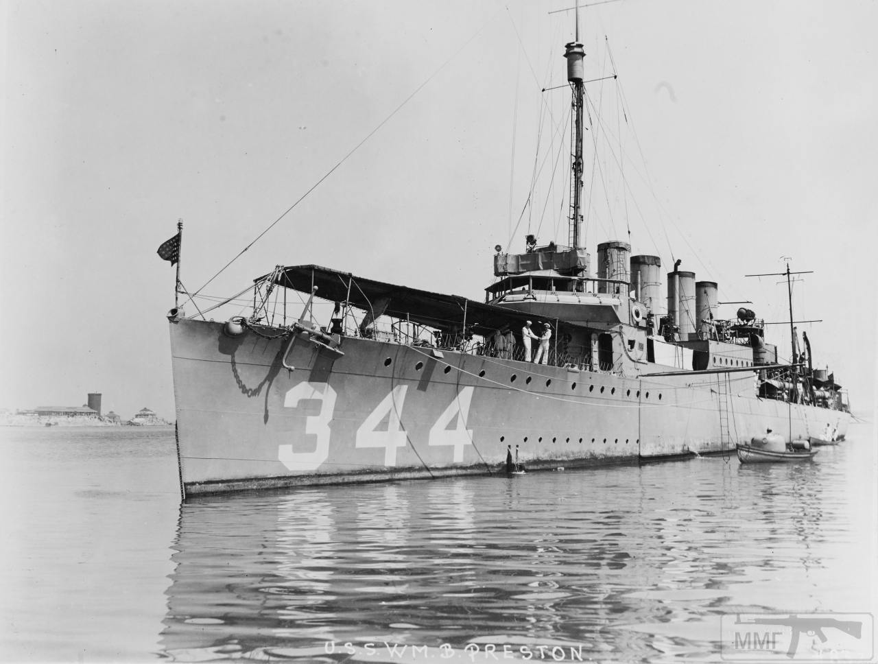 98175 - USS William B. Preston (DD-344 / AVP-20 / AVD-7)