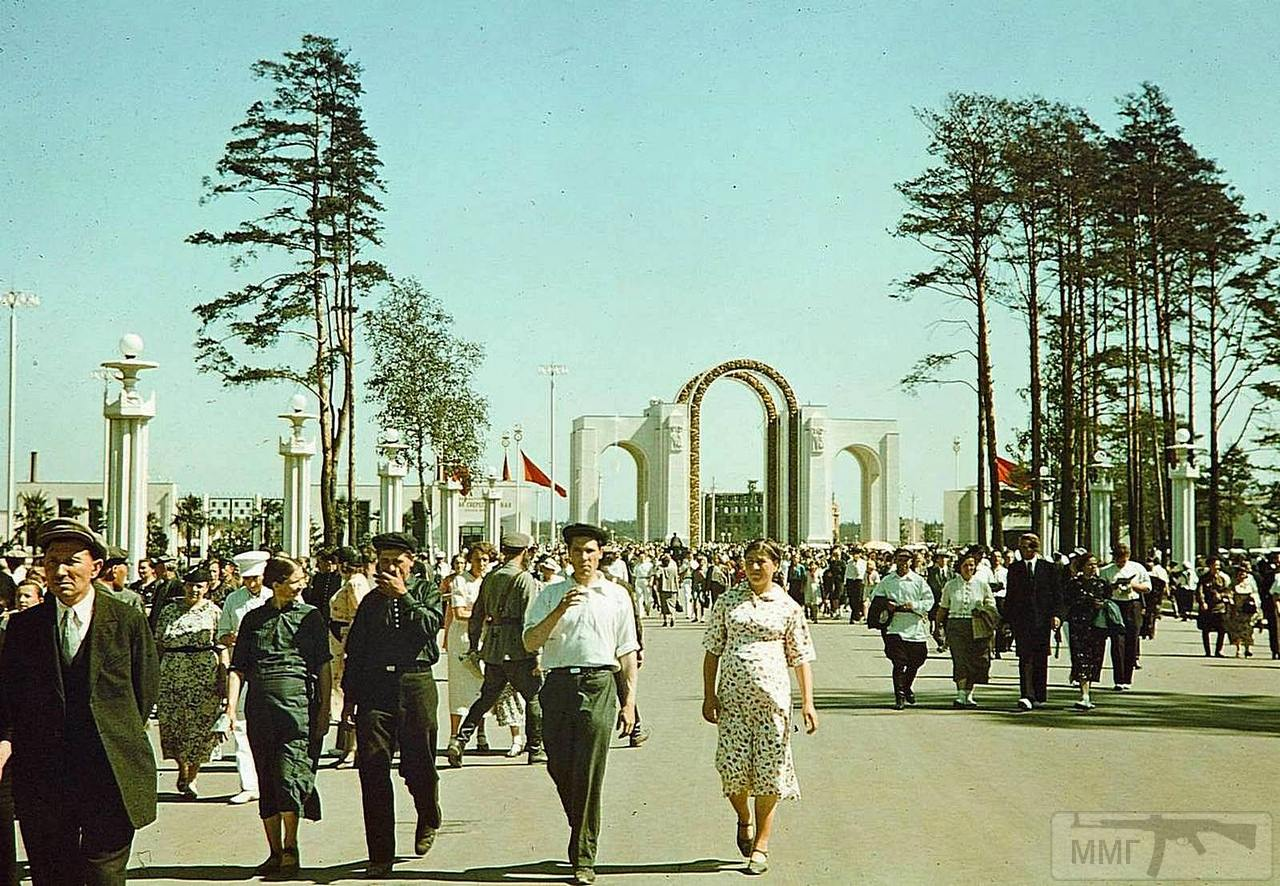 98779 - Всесоюзная сельскохозяйственная выставка. Главный вход.