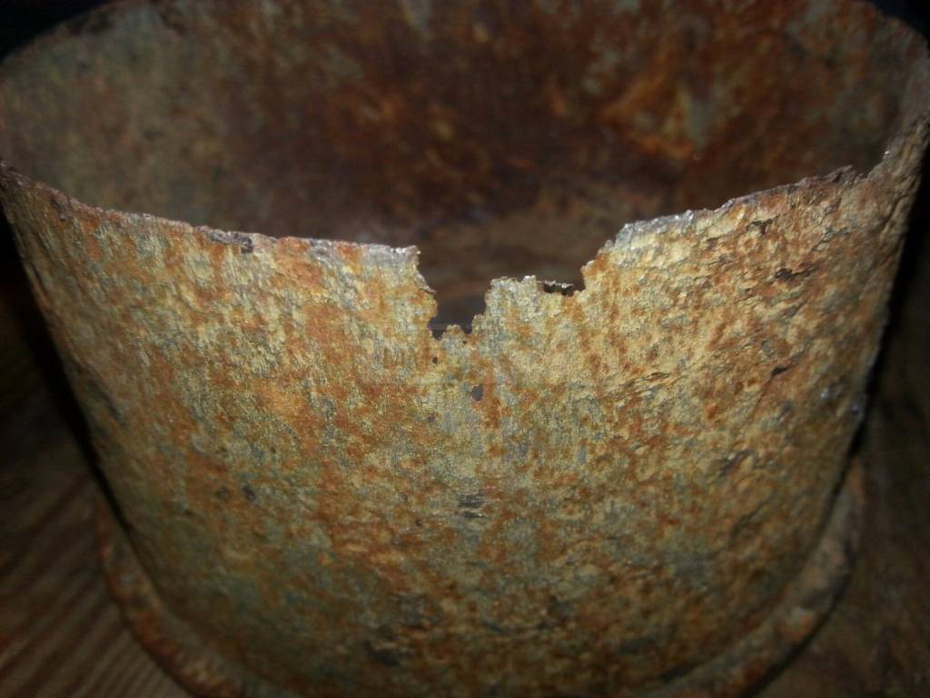 989 - миномётная гильза 10 cm Nb.W.40