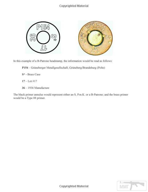 98961 - Патрон 7,92x57 «Маузер» - виды, маркировка, история