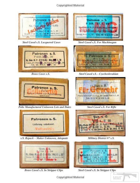 98971 - Патрон 7,92x57 «Маузер» - виды, маркировка, история