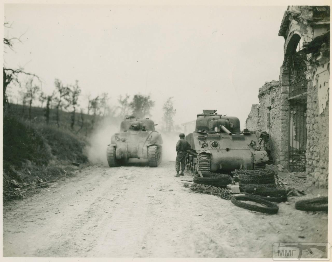 99009 - Военное фото 1939-1945 г.г. Западный фронт и Африка.