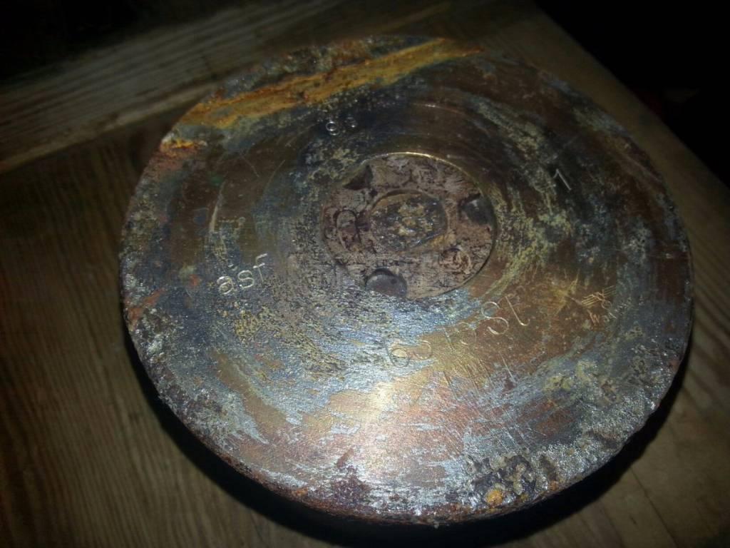 993 - миномётная гильза 10 cm Nb.W.40
