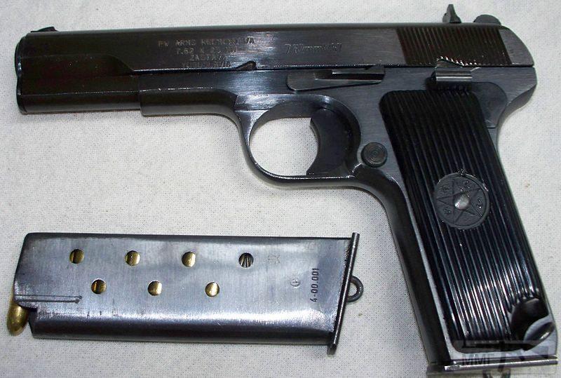99555 - Пистолет ТТ (Тульский Токарева)