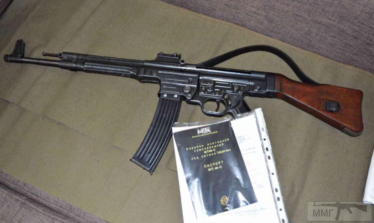 99978 - Sturmgewehr Haenel / Schmeisser MP 43MP 44 Stg.44 - прототипы, конструкция история